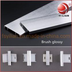 La placa base de pared de aluminio /bordeando para pared y piso