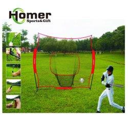 Het draagbare het vouwen Gespecialiseerde Softball die van het Honkbal Netto het Doel van de Praktijk raken