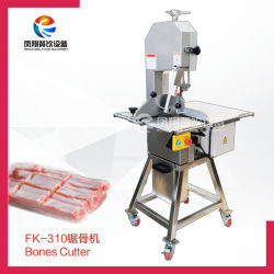 Carne de peixe congelados de alta velocidade máquina de corte ósseo de frango cortador com pedal