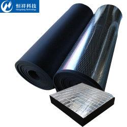Panneaux isolants en mousse en caoutchouc noir de gros de système d'eau de la mousse en caoutchouc