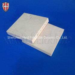 Al2O3 e Placa branca quadrada de cerâmica de alumina