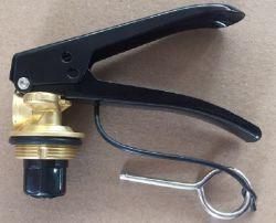 Extintor de incendios accesorios 6kg de la válvula de extintor de polvo