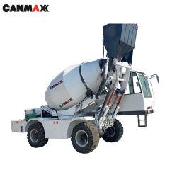 الصين الجديدة Cm3500r 3.5cm ماكينة متنقلة تحميل ذاتي خالط الخرسانة أسعار شاحنة المضخة للبيع