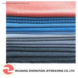 La preuve de l'eau cationiques le tissu de polyester de couleur Double Spandex Stretch pour vêtement