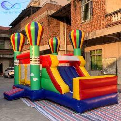 Balão de Ar Theme Park Bouncer inflável com deslize as crianças pulando Castle Combo insufláveis Bouncer deslize