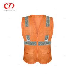 Vest van de Veiligheid van de Band van pvc het Weerspiegelende