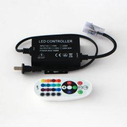 Het Draadloze RGB Grb Controlemechanisme van de hoogspanning AC220V-230V of 110V Dimmer van het Controlemechanisme van de LEIDENE RGB Afstandsbediening van Grb IRL