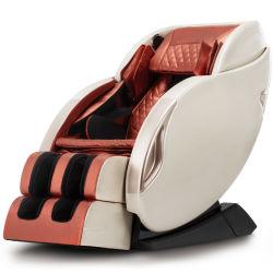 Top Reluex 최신 Luxury 4D Zero Gravity Shiatsu Foot 마사지 의자 제로 스페이스 히트테라피 월 Bluetooth 스피커 음악 껴안기 L호박색 Lamber 3D 2D 리클라이닝 의자