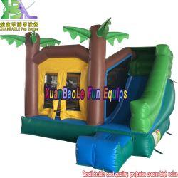 Exibires os saltos Bouncer insuflável castelo insuflável Mini Palmeira Jumper Bounce House n Slide