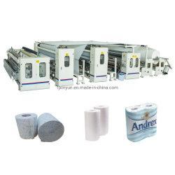 Kleur Glue lamineren klein Toilet papier Making machine Prijs
