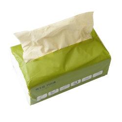 卸し売り自然なタケパルプのティッシュのトイレットペーパー