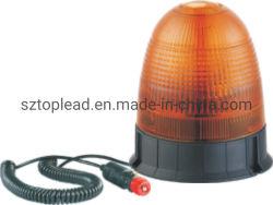 Comienzo el plomo ámbar parpadeante luz de emergencia estroboscópica LED, LED 5730 Gira de seguridad de la luz de aviso de advertencia con magnético