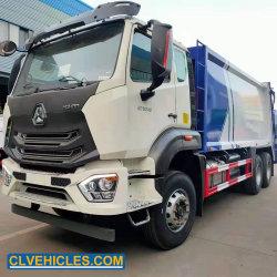 Sinotruk 15m3 18m3 20m3 compactador de resíduos Recolha de lixo caminhões do Compactador
