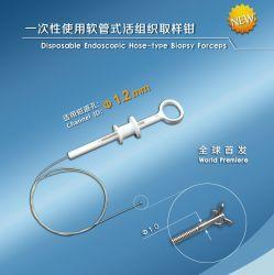 일회용 Endoscopic Hose-Type Biopsy Forceps with 1.0mm Alligator Cups