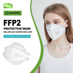 Schutzmaske CE FFP2 Willow Blatt geformt Produkt Gesichtsmaske