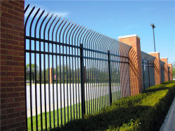 Stahlzaun-Antiaufstiegs-Zaun-/Garden-Zaun-/Sicherheits-Sicherheitszaun-/Yard-Zaun-/Metallgußteil-Zaun des Privatleben-F005