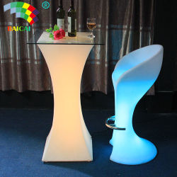 조명 LED 광선 바 테이블 LED 실외 테이블
