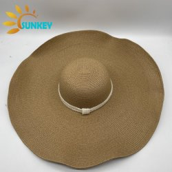 2021 оптовой новый дизайн шапки соломы природных летние гибких головные уборы соломы на пляже Red Hat соломы для женщин
