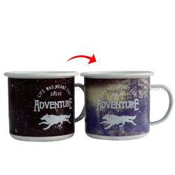 معانق لبن القهوة من صنع OEM بورسلين تغير لون الجعة المنقوشة بالحيوان