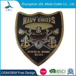 A extremidade alta Custom 3D Policial Metal Loja Desafio Coin carimbo com o logotipo personalizado (044)