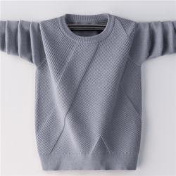 Macchina acrilica merino del jacquard del pullover delle lane 50% del maglione 50% dei 2020 capretti lavabile