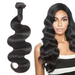 Muestra gratuita 10Virgen cuerpo cabello tejido onda Mejor Precio 100% Natural Remy brasileño sin procesar paquetes de virgen cabello humano.