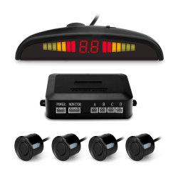 스마트 카 초음파 자동 리어 범퍼 주차 센서(LED 포함 디스플레이 및 버저 인사이드