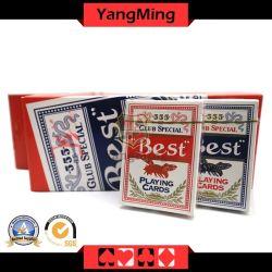 555 de Specifieke Speelkaarten van het casino Pook voor het Gokken van het Baccarat van Texas Holdem Spelen (ym-PC09)