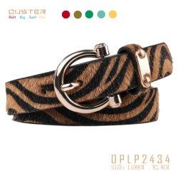 Мода ремня привода вспомогательного оборудования моды Lady Classic Fashion Leopard PU ремень женщин основных ремень при помощи металлических петель Nice производитель плечевой лямки ремня безопасности