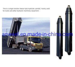 Hydraulischer Teleskopölzylinder Dump Truck Hydraulikzylinder für IATF 16949: 2016