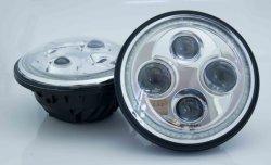 Round 7 polegada Farol Farol de LED do veículo para carro moto