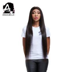 Angelbella seule appelée Indian Remy Hair Extension de l'homme et de la soie mous Cheveux raides