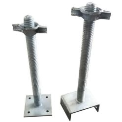 Gato de la base de acero galvanizado U para la construcción