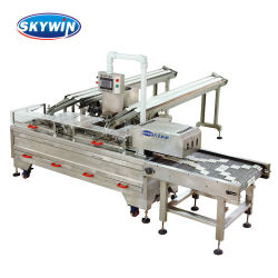 Dos colores máquina Sandwiching Industrial Biscuit de Privilegio de la fábrica de la máquina