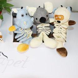 La figura del fumetto ha personalizzato i giocattoli interattivi di tela del cane di giocattoli di masticazione del cane di marchio