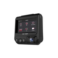 2.0Inch IPS Double Écran FHD1080p voiture de l'objectif case noire avec WiFi GPS