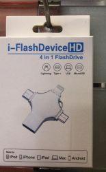 Diseño de la más reciente popular teléfono inteligente de la unidad flash USB OTG con Micro USB OTG U disco OTG 4 en 1