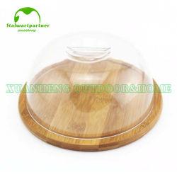 Cassetto di bambù di legno ecologico del servizio del pane dell'alimento