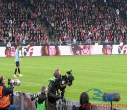 P10 HD en el exterior del estadio de fútbol de la pantalla de LED