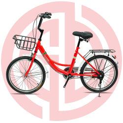 Logotipo personalizado Color personalizado de tamaño personalizado Dama bicicleta Bicicleta Ciudad