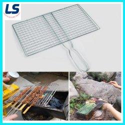 Alta calidad de la plaza de malla de alambre galvanizado barbacoa