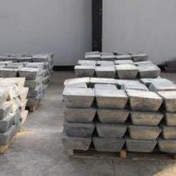 Les lingots d'antimoine 99.65 %, 99,85 %, 99,90% (CAS 7440-36-0) :