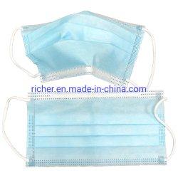 3 plis Masques jetables à usage unique