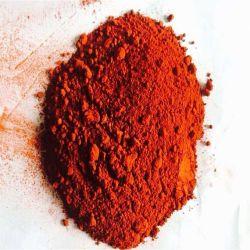 Polvere gialla rossa nera del pigmento dell'ossido di ferro