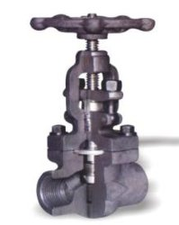 SA105 Cls800 rosca interna do flange de sw Bw Aço forjado válvula globo BS5352 Asmeb16.11
