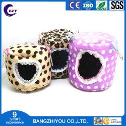 Tissu en coton en peluche de hamster nid personnalisable