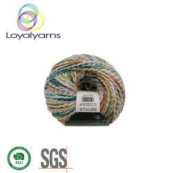 2019 mit der Hand strickendes gemischtes Acrylgarn Ly-C037 des Garn-50% der Baumwolle50%