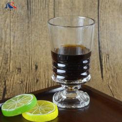 Vetro di vino Stemless spesso inciso decorativo di alta qualità per la tazza della radura del partito