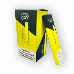 전자 담배 플러스 E 주스 소금 1.2ml 처분할 수 있는 Vape 400puffs를 연기가 나는 OEM 로고