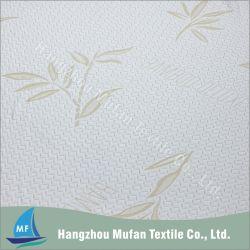 Breathable Ebene gefärbtes Polyester-Mischungs-Gewebe des Knit-40% des Bambus-60% für das Matratze-Ticken und Kissen-Deckel